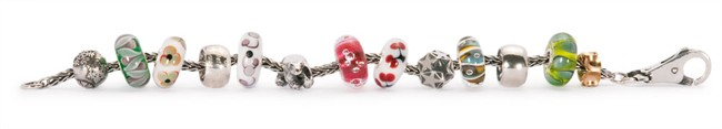 Weihnachts-Winter-Armband Trollbeads